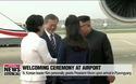 Triều Tiên trải thảm đỏ đón Tổng thống Hàn Quốc