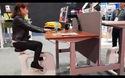 Trải nghiệm chiếc bàn làm việc tích hợp bàn đạp tập thể dục