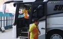 Olympic Việt Nam bước vào sân, chuẩn bị cho trận gặp Nhật Bản