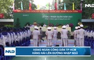 Hàng ngàn công dân TP HCM lên đường nhập ngũ