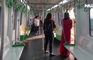 Chạy thử 5 đoàn tàu đường sắt trên cao Cát Linh-Hà Đông