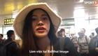 Nữ phóng viên xinh đẹp Thái Lan yêu mến Đặng Văn Lâm. Thực hiện: Phạm Huyền