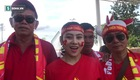 CĐV Việt Nam tự tin cổ vũ đội nhà chiến thắng