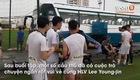 Xuân Trường mừng rỡ khi gặp lại thầy Lee, Minh Vương ngại ngùng vì để fangirl nhìn thấy khi đang cởi trần. Video: Giang Nguyễn