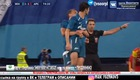Sardar Azmoun bị Dzyuba quăng khỏi sân bóng