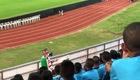 CĐV Thái Lan đồng thanh hô vang cổ vũ U23 Iran trên SVĐ Tinsulanon (9/1/2020).