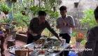 Trần Minh Vương ghé thăm nhà phóng viên báo Người Lao Động