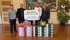 HLV Park Hang-seo tặng đội tuyển nữ Việt Nam hoa quả bồi bổ sức khoẻ