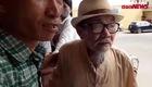 Video cụ Tạ Quang Tám mua vé xem trận Nam Định vs HAGL
