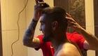 Vrsaljko cạo tóc giúp Kovacic.