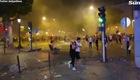 CĐV Pháp gây bạo loạn tại Paris