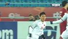 Cú đúp của Quang Hải vào lưới Qatar