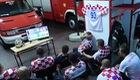 Đội cứu hỏa Croatia bỏ dở trận đấu World Cup vì nhiệm vụ