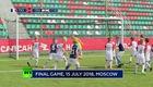 Đội bóng nhí tái hiện trận chung kết World Cup 2018