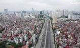 Cận cảnh đường Vành đai 3 trên cao đẹp như tranh vẽ sắp thông xe ở Hà Nội