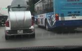 Chiếc Kia Morning kì dị như ninja rùa tại Hà Nội khiến người đi đường hoảng sợ