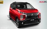 Khám phá Mitsubishi eK X: Đậm chất thực dụng