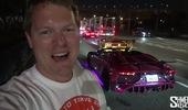 Dàn Lamborghini độ đèn đầy màu sắc tham dự Gumball 3000