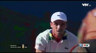 Vòng 4 Miami mở rộng 2017: Federer 2-0 Mahut (7-6, 7-6)