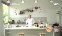 Bếp nhà:  Bí đỏ chiên tôm