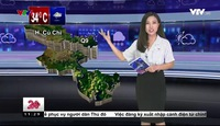 Bản tin thời tiết 11h30 - 24/3/2017