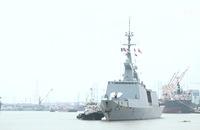 Đoàn tàu chiến Pháp tới Việt Nam