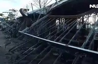 Cháy lớn ở chợ đêm Phú Quốc, ước tính thiệt hại hàng tỉ đồng.