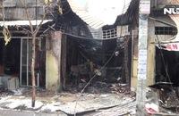 Cháy lớn ở Quận 7: Ba cửa tiệm chìm trong biển lửa