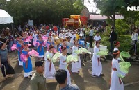 Tưng bừng Lễ hội Katê của đồng bào Chăm