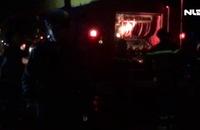 Cửa tiệm bán phụ tùng xe máy phát hỏa, người dân hốt hoảng tháo chạy