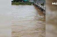Lũ đang lên nhanh ở Khánh Hòa, Phú Yên