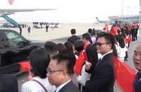 Video: Chủ tịch Trung Quốc Tập Cận Bình rời Việt Nam