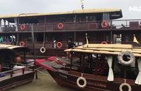 Cần Thơ: Du thuyền, tàu du lịch ngưng hoạt động để tránh bão
