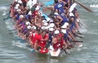 Lễ hội đua thuyền mừng độc lập trên quê hương Đại tướng Võ Nguyên Giáp