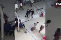 Côn đồ hành hung nữ tiếp viên tại sân bay Thọ Xuân