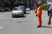 Ngày 5-10, sửa chữa đường Nguyễn Hữu Cảnh