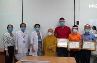 Chung tay phòng chống dịch Covid-19: Trao quà tiếp sức y - bác sĩ Bệnh viện Bệnh Nhiệt Đới TP HCM