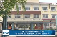 Liên quan bệnh nhân 1453: 42 người có kết quả âm tính Covid-19