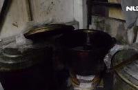 TP HCM: Phát hiện cơ sở sản xuất dầu mè bẩn tại gia
