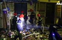 Cháy căn nhà 4 tầng trong đêm, 2 mẹ con thiệt mạng