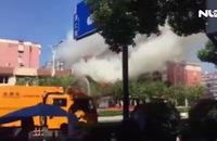 Nổ lớn tại Trung Quốc: Ít nhất 2 người chết, 55 bị thương