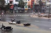 Video: Bão số 12 đổ bộ vào tỉnh Khánh Hòa