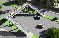 TP HCM chi hàng tỉ đồng xây thêm nhiều cầu vượt bộ hành