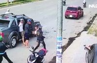 Hai nhóm đối tượng bắn nhau kinh hoàng trên đường