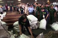 Hơn 7 tấn vảy tê tê nhậu lậu tại cảng Cát Lái