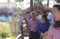 Hàng vạn người dân viếng mộ Đại tướng Võ Nguyên Giáp dịp lễ