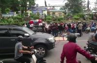 Hai xe máy tông trực diện, 2 người thương vong