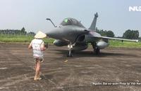 Cận cảnh phi đội không quân Pháp lần đầu thăm Việt Nam