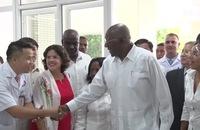 Phó Chủ tịch thứ nhất Hội đồng Nhà nước Cuba thăm Quảng Bình