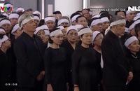 Hàng ngàn người dân tiễn biệt nguyên Tổng Bí thư Đỗ Mười